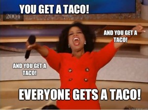 Oprah Taco